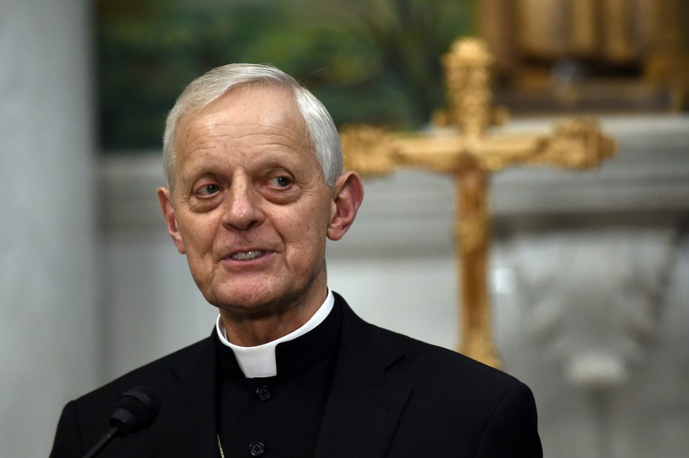 Cardinal Donald Wuerl says he will go to the pope soon to discuss his potential resignation