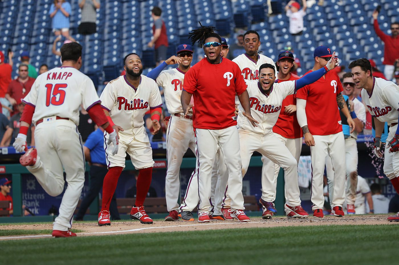 Andrew Knapp's walk-off homer gives Phillies 13-inning win over Nationals