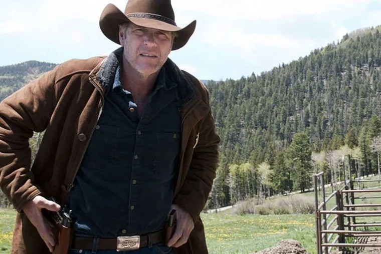 """Robert Taylor stars as the title character, a tortured sheriff and widower, in """"Longmire,"""" a contemporary western."""