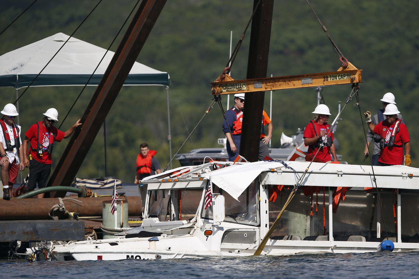Captain in Missouri duck boat accident that killed 17 is charged with seaman's manslaughter