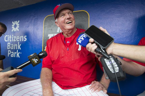 Former Phillies manager Charlie Manuel recovering after health scare
