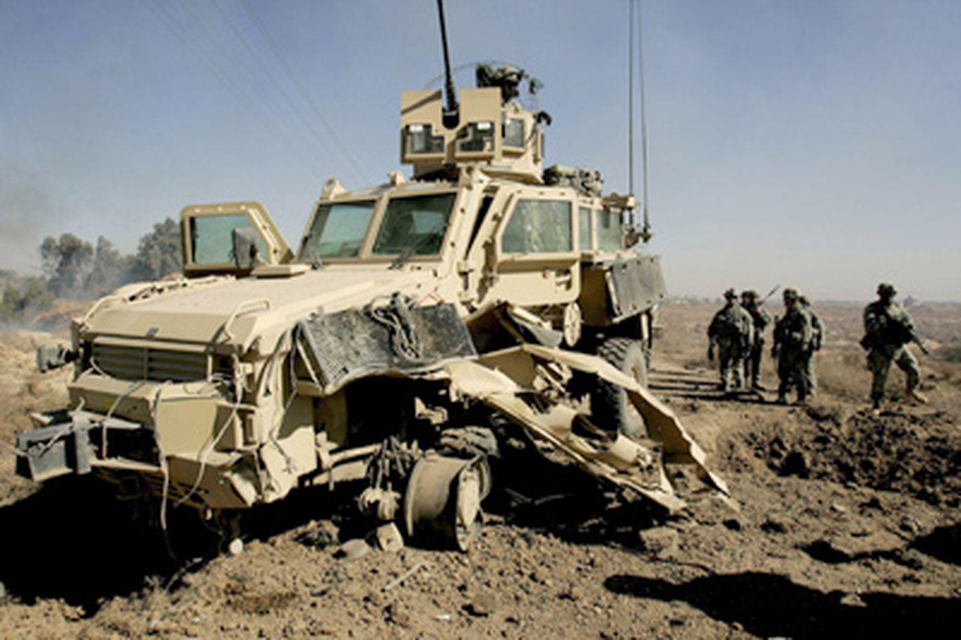 Villanova researchers seek ways to beef up military armor