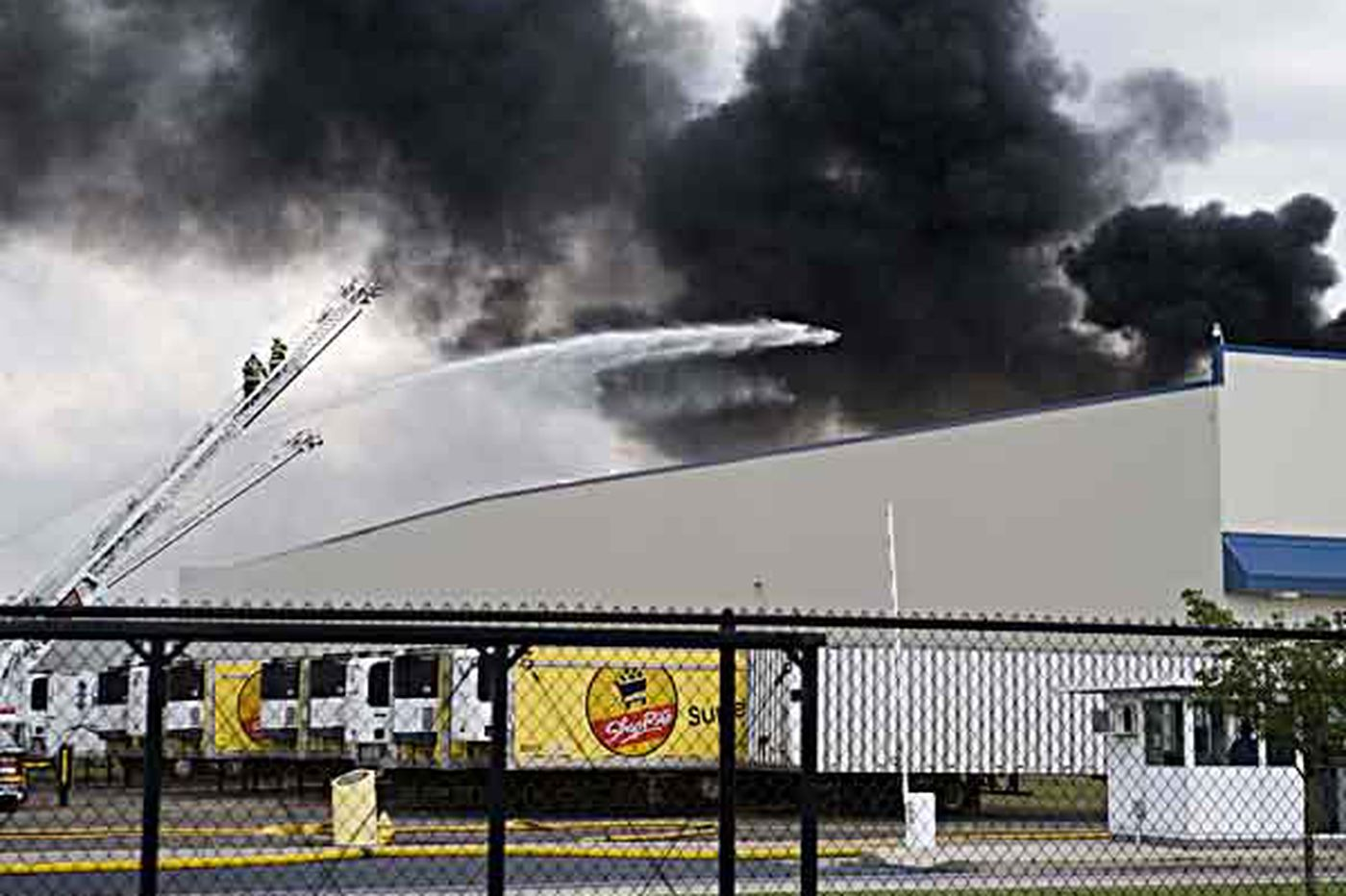 At Dietz site, unwelcome reminders of the fire