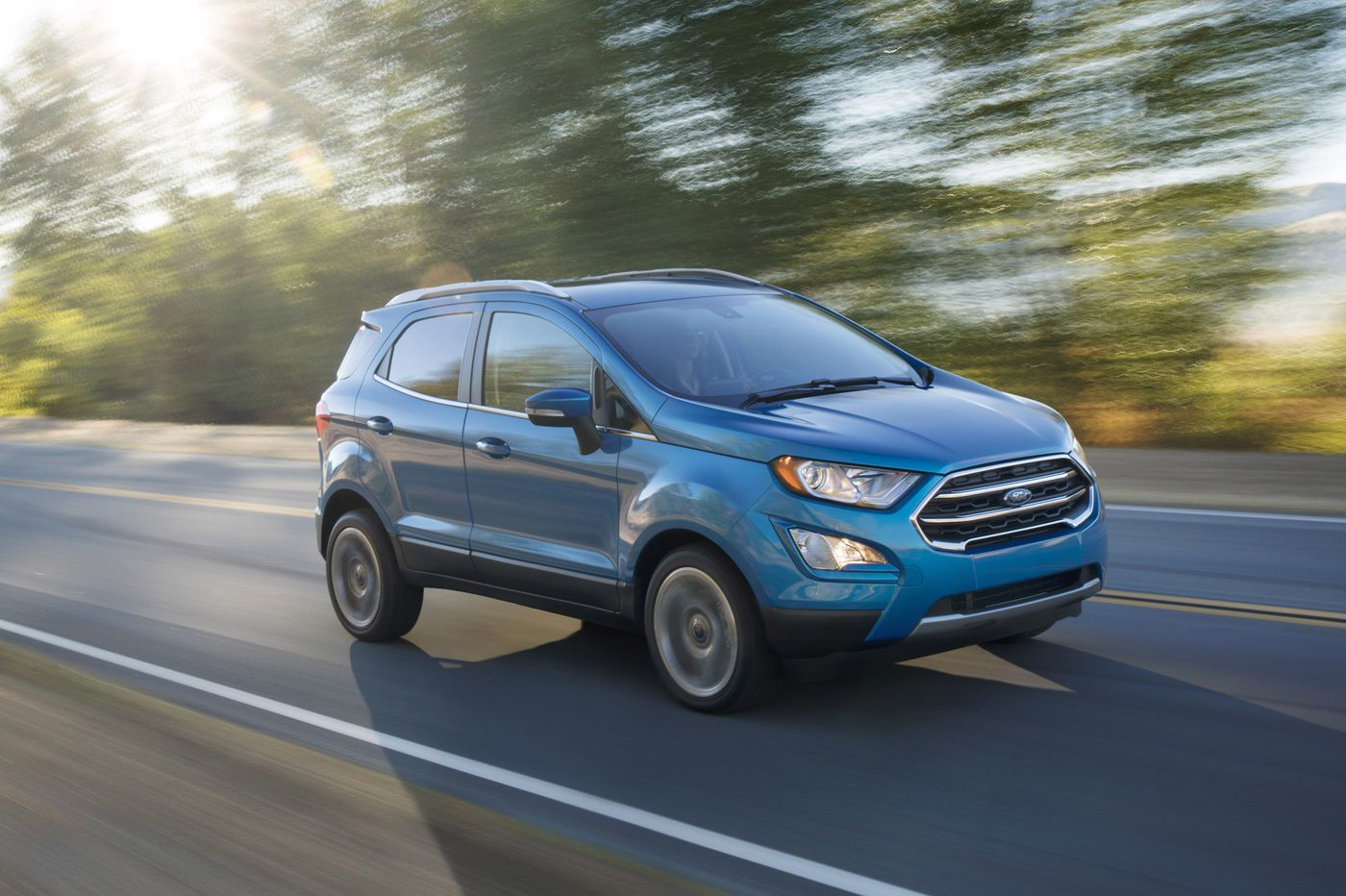 2018 Ford EcoSport requires some give and take