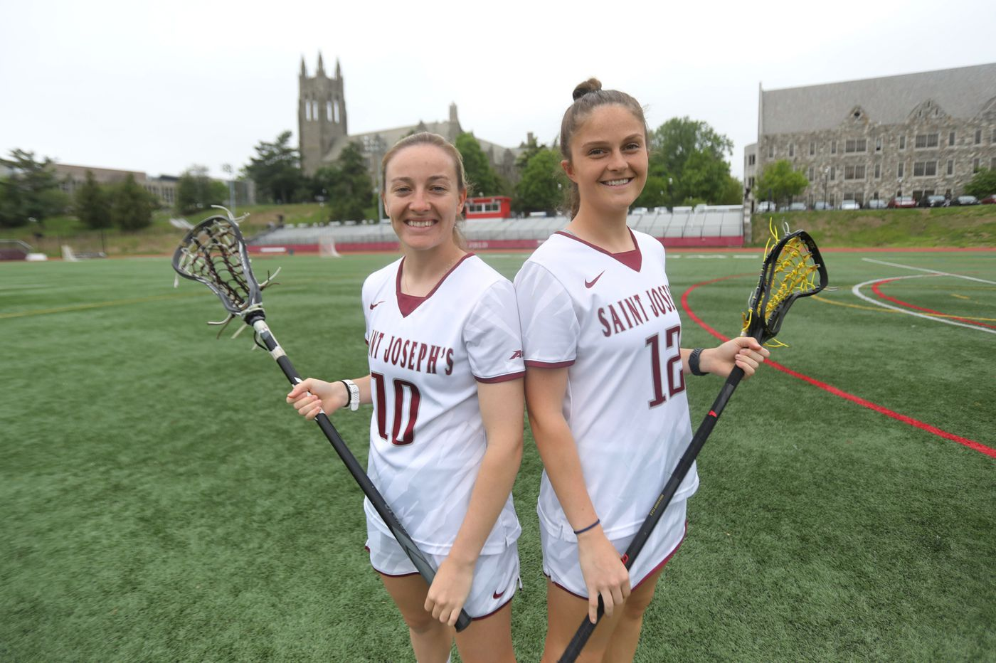 St. Joseph's lacrosse duo Rebecca Lane and Stephanie Kelly share Australian connection