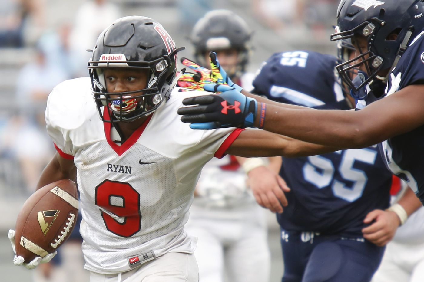 Archbishop Wood aims to deal Archbishop Ryan its first football loss