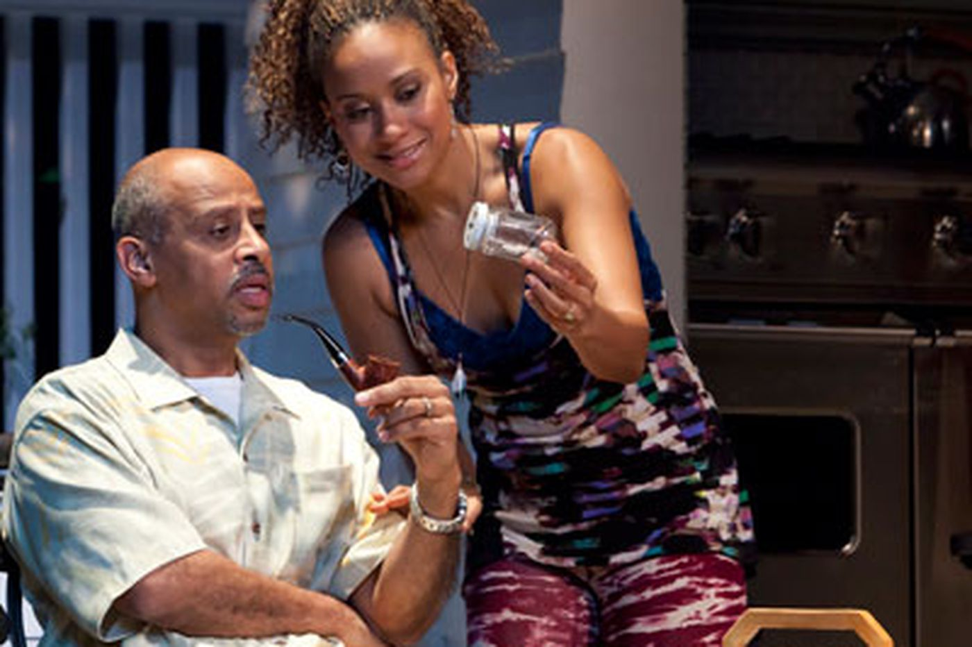 Broadway Review: 'Stick Fly'