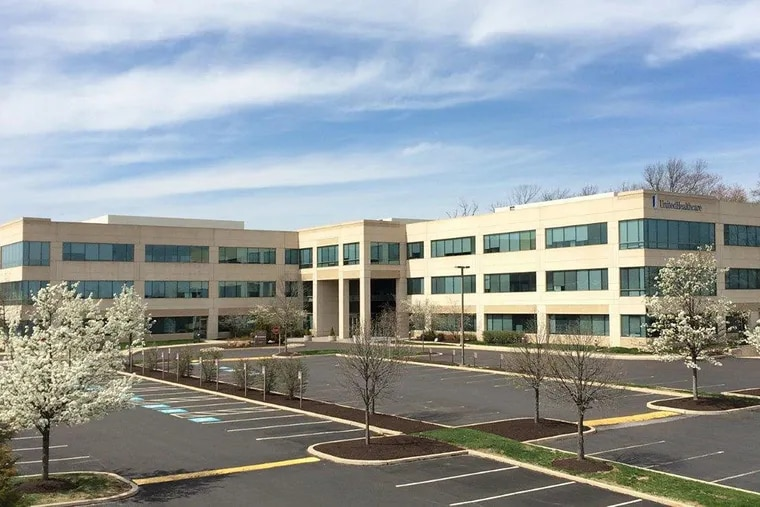 This building at 680 Blair Mill Road was one of the buildings in Horsham's Pennsylvania Business Campus acquired by Workspace Property Trust from Liberty Property Trust
