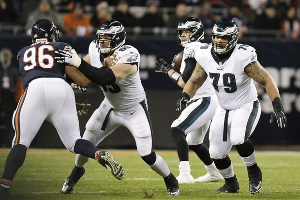 Nasty Eagles O-line rises to muzzle J.J Watt, Khalil Mack, Aaron Donald on march to New Orleans | Marcus Hayes