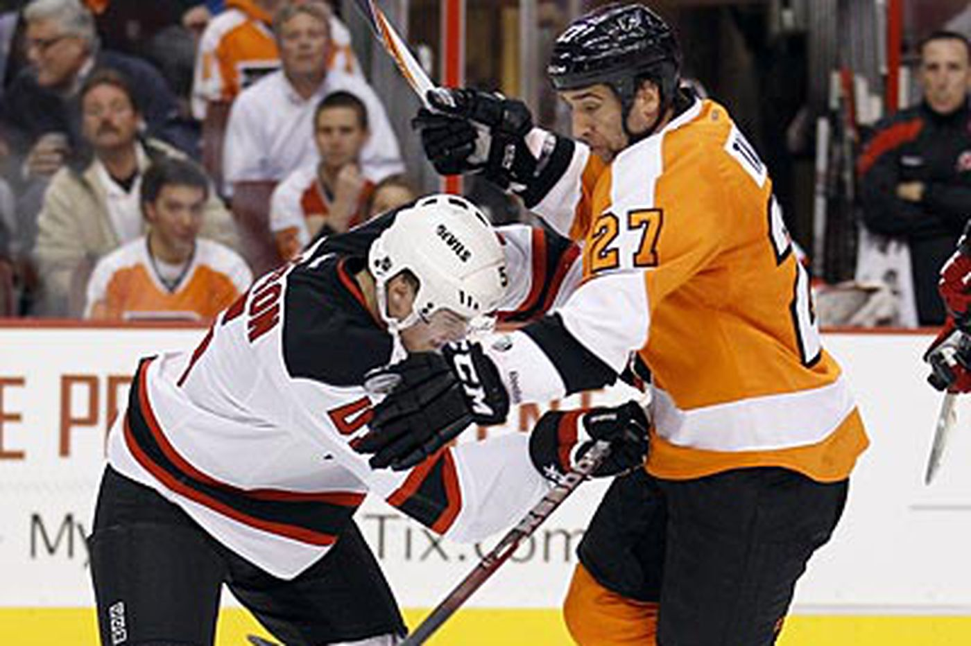 Mark Kram: Flyers think their rest will trump Devils' momentum