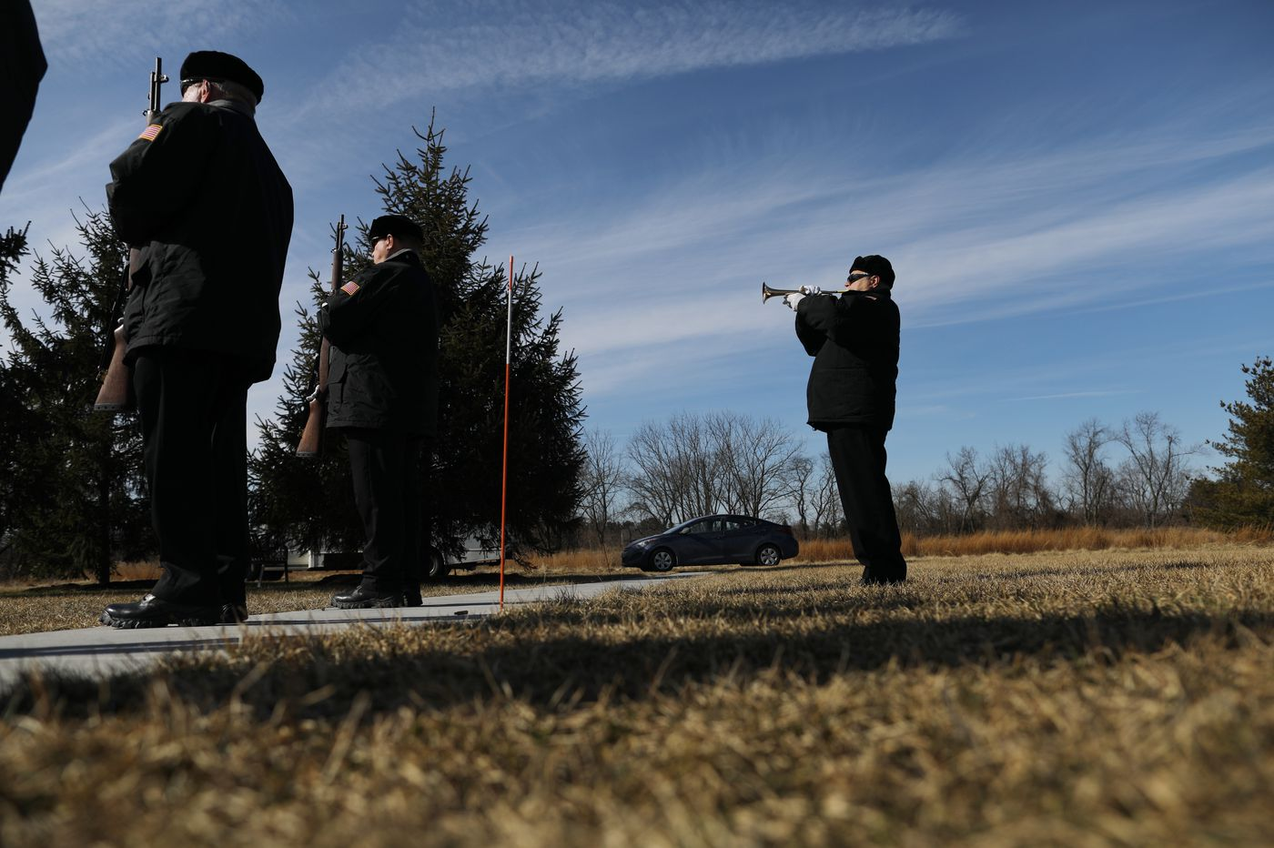 Service held at Washington Crossing National Cemetery gives