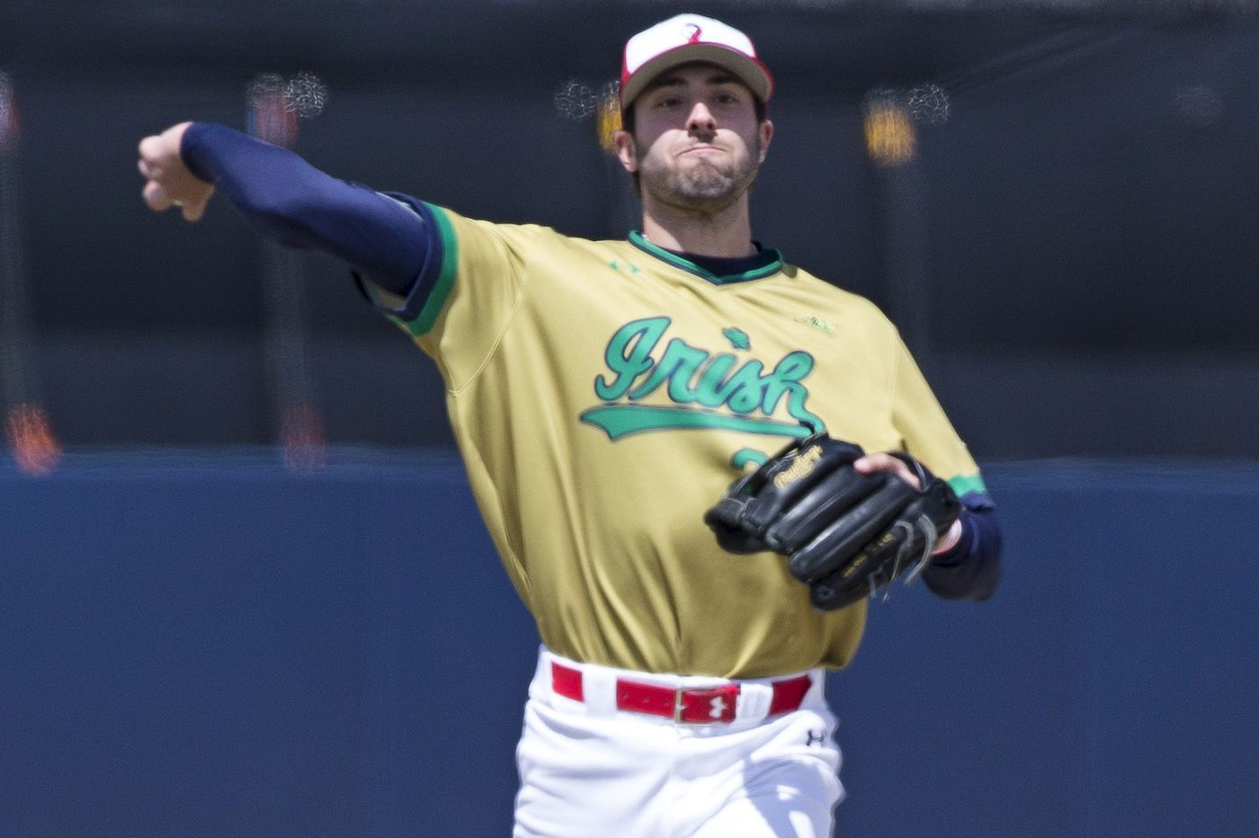 Like Alec Bohm, Phillies think Notre Dame's Matt Vierling can move quick to majors