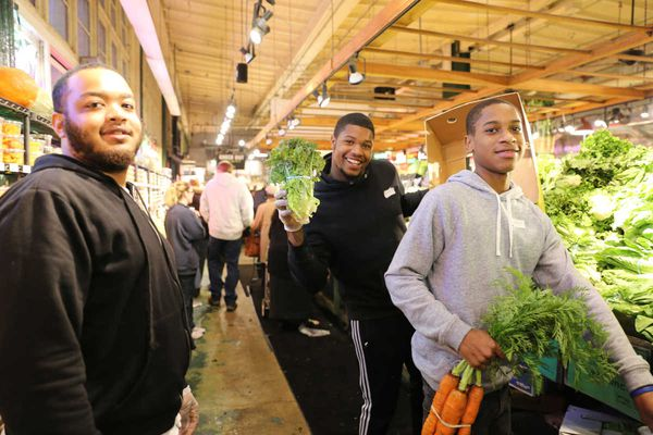Newall: At Reading Terminal, Thanksgiving jobs for kids who need them