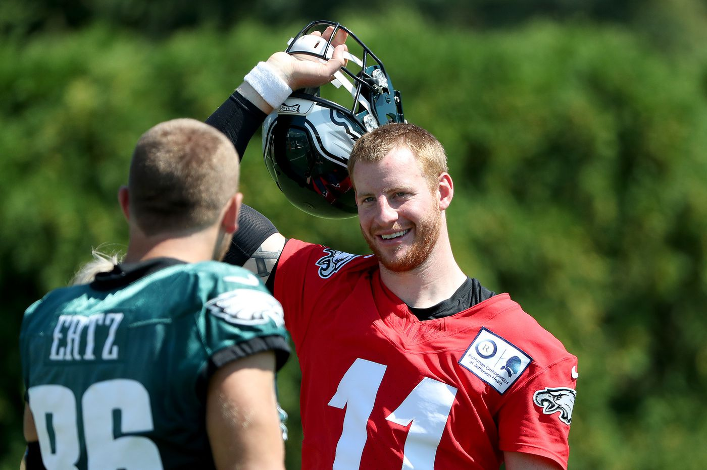 Eagles' Carson Wentz says he'll be ready for season opener whether he plays in preseason or not