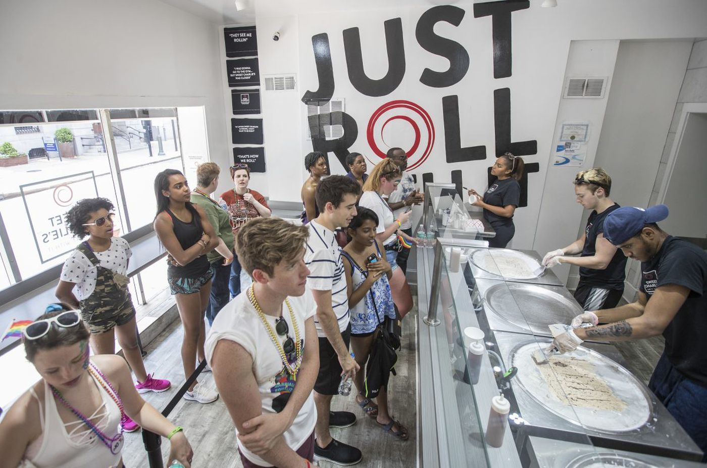 Philly's rolled-ice cream craze headed for a melt down?