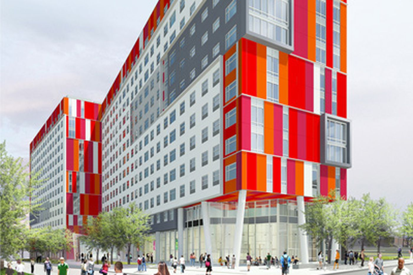 Construction begins on $100 million student apartment building at Temple
