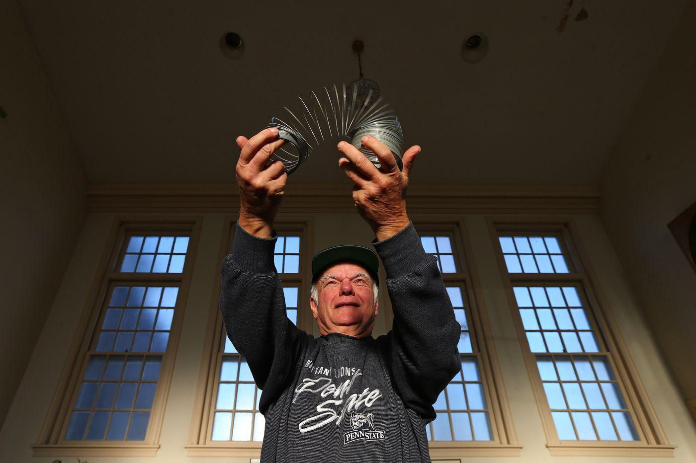 It's Slinky, it's Slinky! It's such a wonderful toy - should it be Pa.'s state toy? It's one man's mission