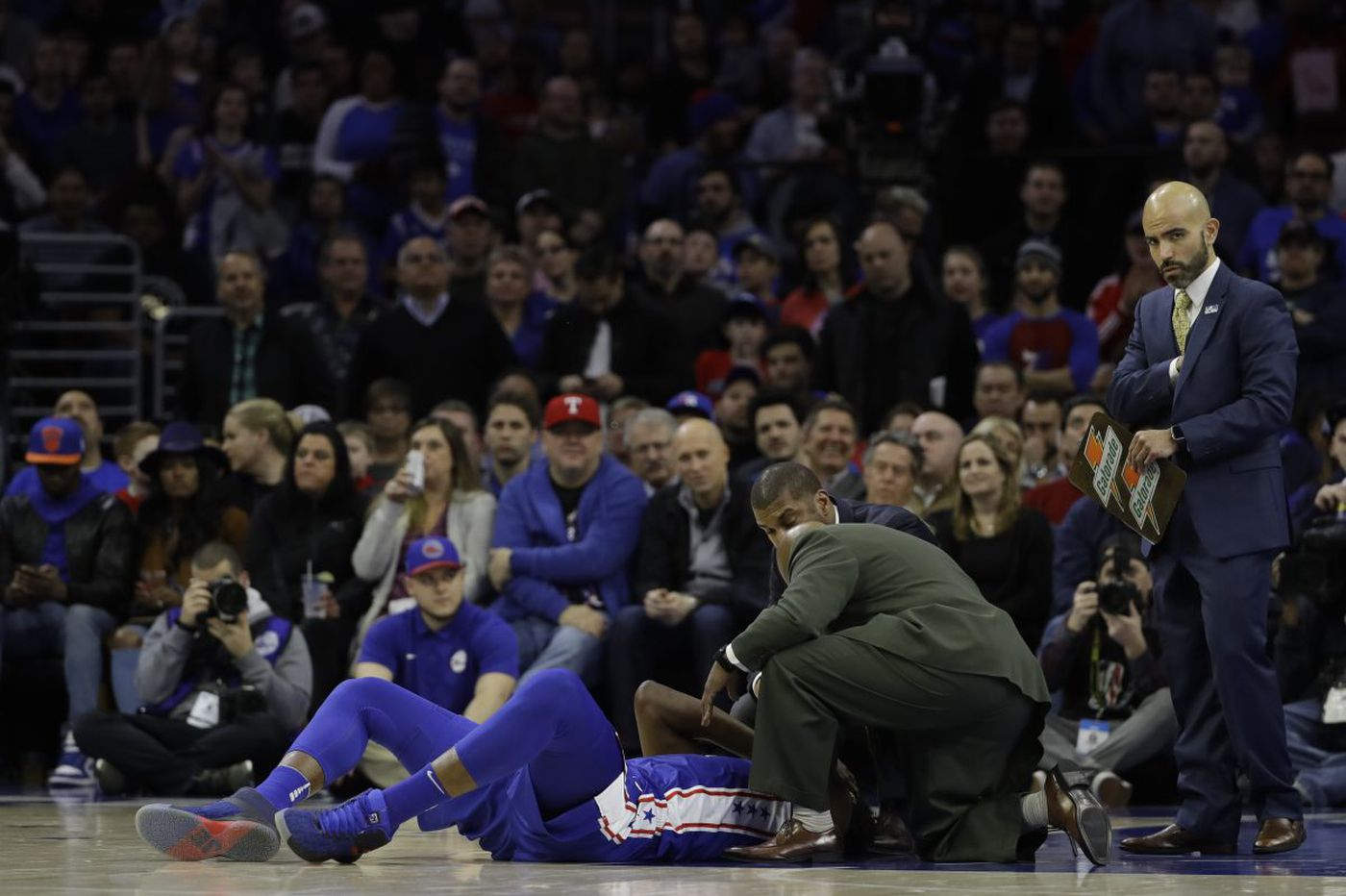 When could Joel Embiid return to the court? Eagles' head team physician weighs in