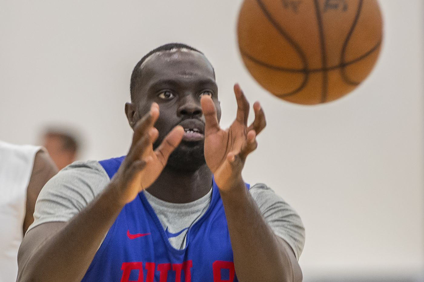 Sixers waiving two-way guard Marial Shayok