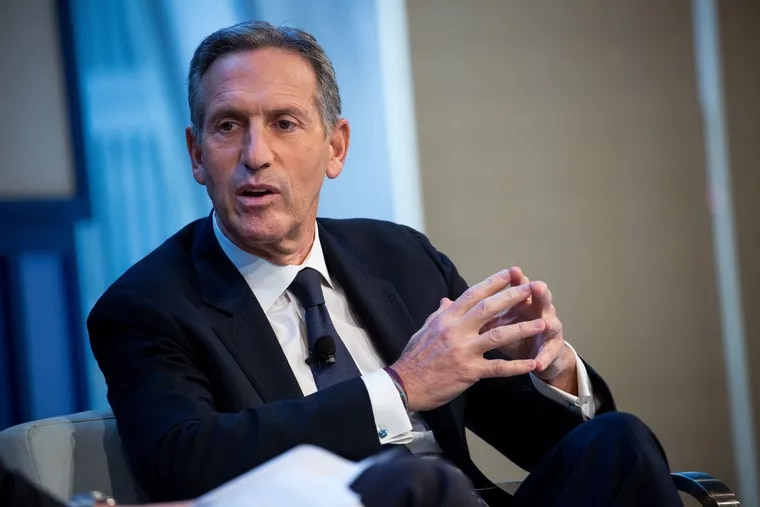 Howard Schultz. MUST CREDIT: Bloomberg photo by Michael Nagle