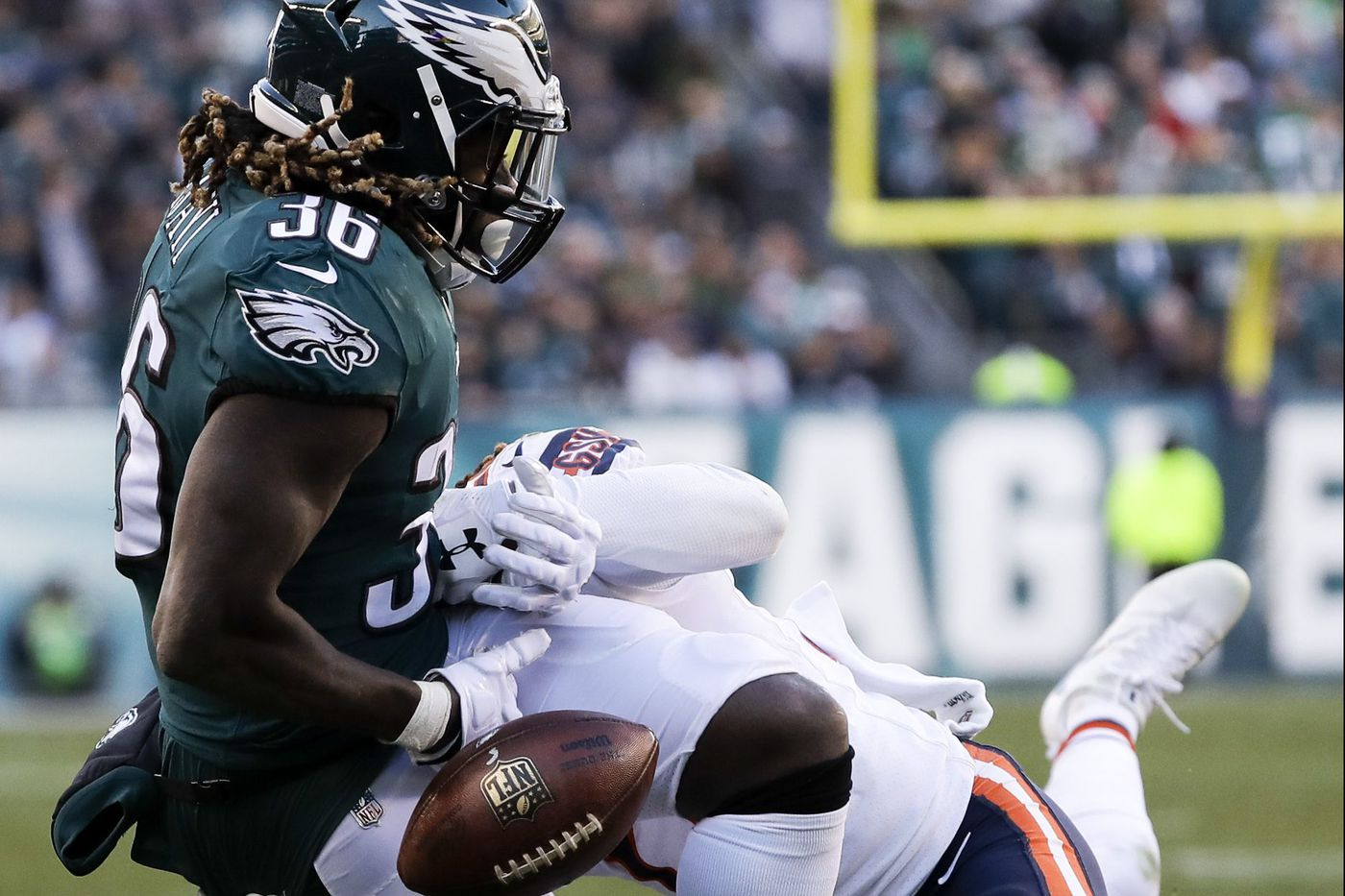 New Eagle Cre'Von LeBlanc hopes to learn at least a nickel's worth of the playbook quickly