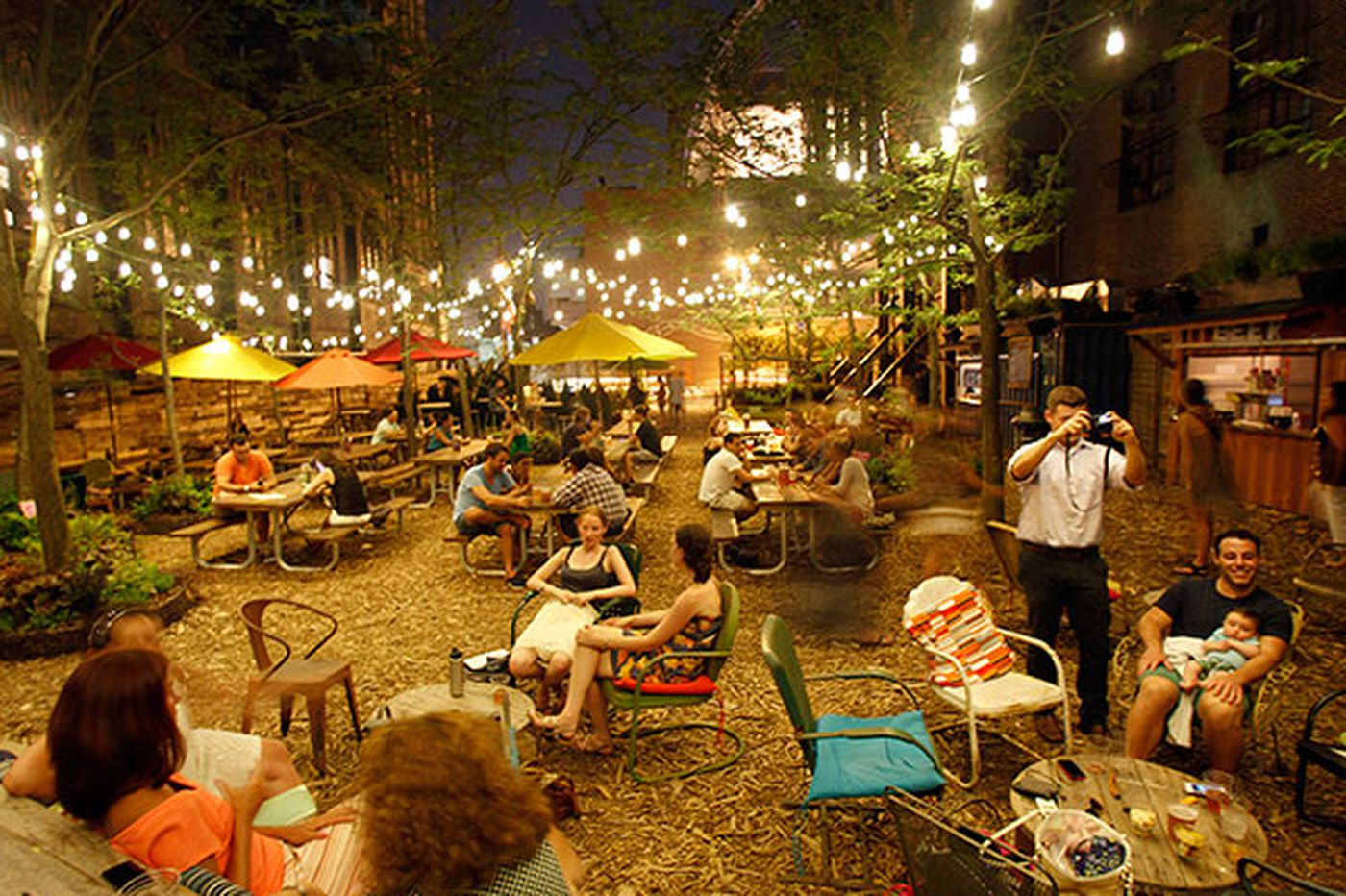 Beer gardens are sprouting all over Philadelphia