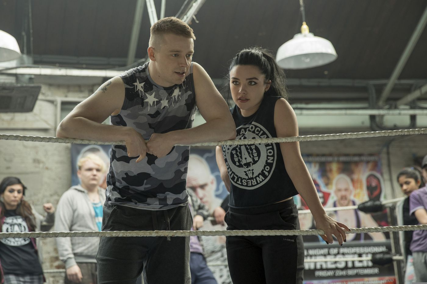 'Fighting With My Family' is an offbeat wrestling-movie charmer, with an assist from The Rock   Movie review