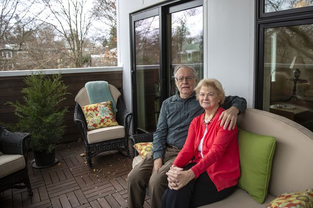 West Mount Airy condo allows couple to age in place in the neighborhood they love
