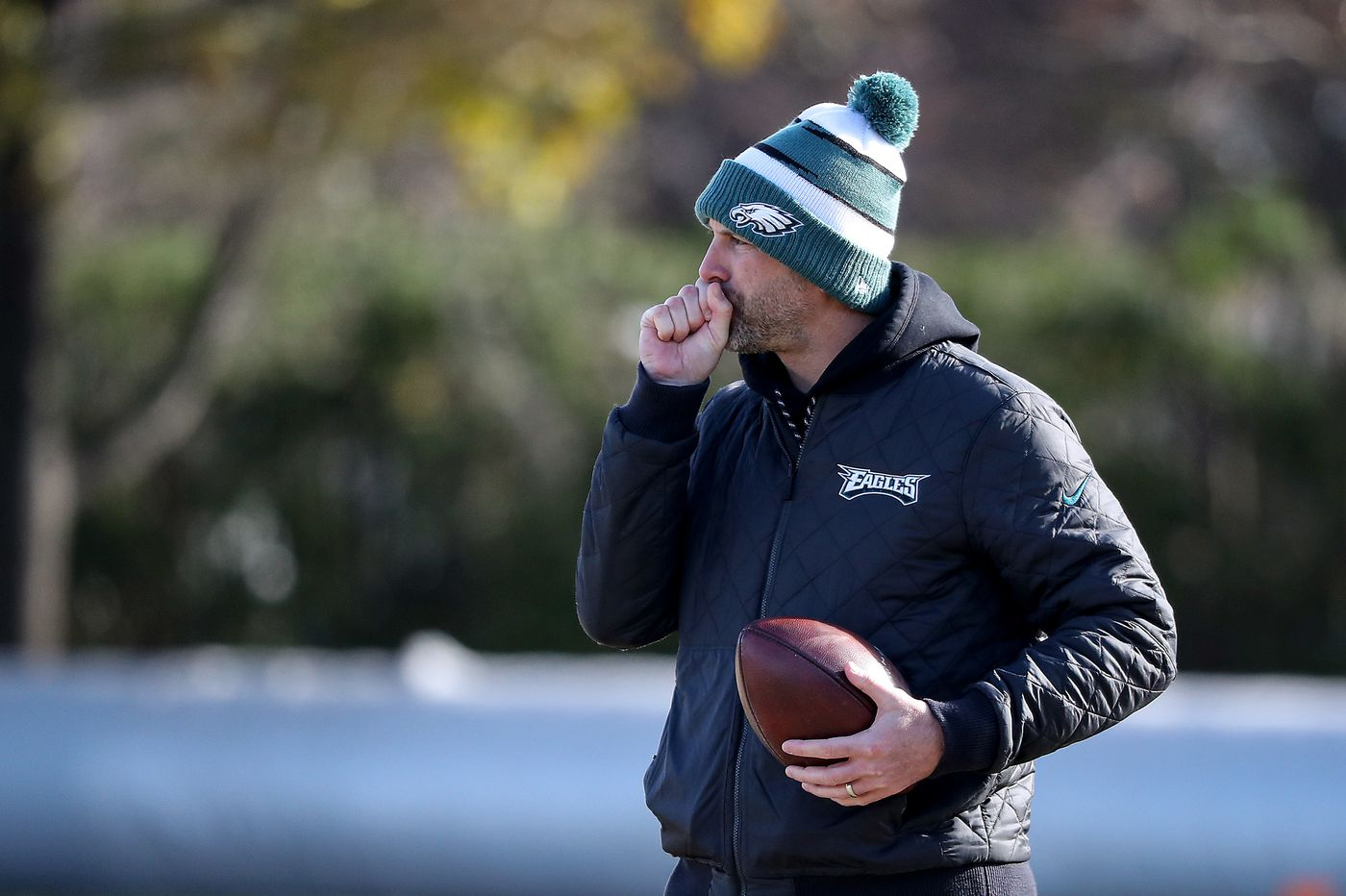 Former Eagles offensive coordinator Mike Groh hired by Indianapolis Colts as WR coach