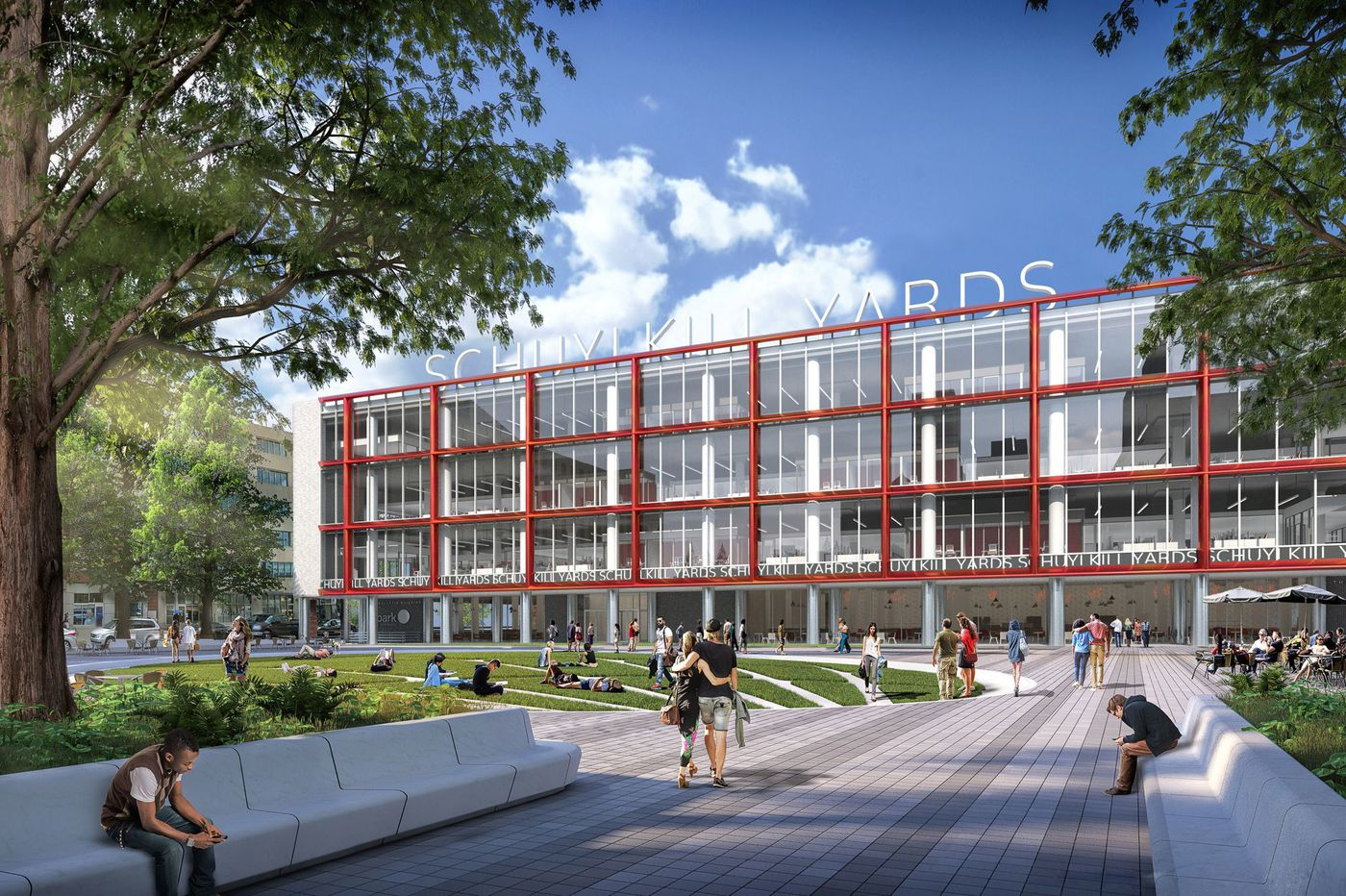 Updating an old newspaper building for Philadelphia's new Schuylkill Yards innovation district | Inga Saffron