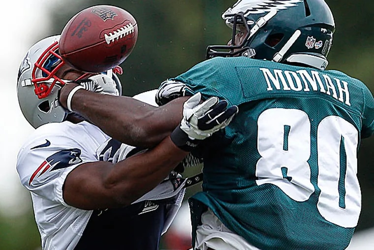 Eagles wide receiver Ifeanyi Momah. (David Maialetti/Staff Photographer)