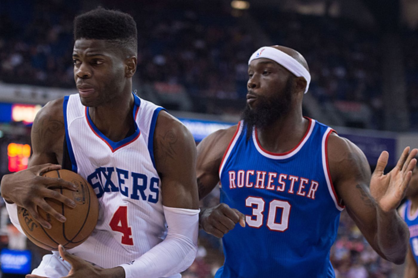 Sixers' Brown says Noel is in mix for rookie of year