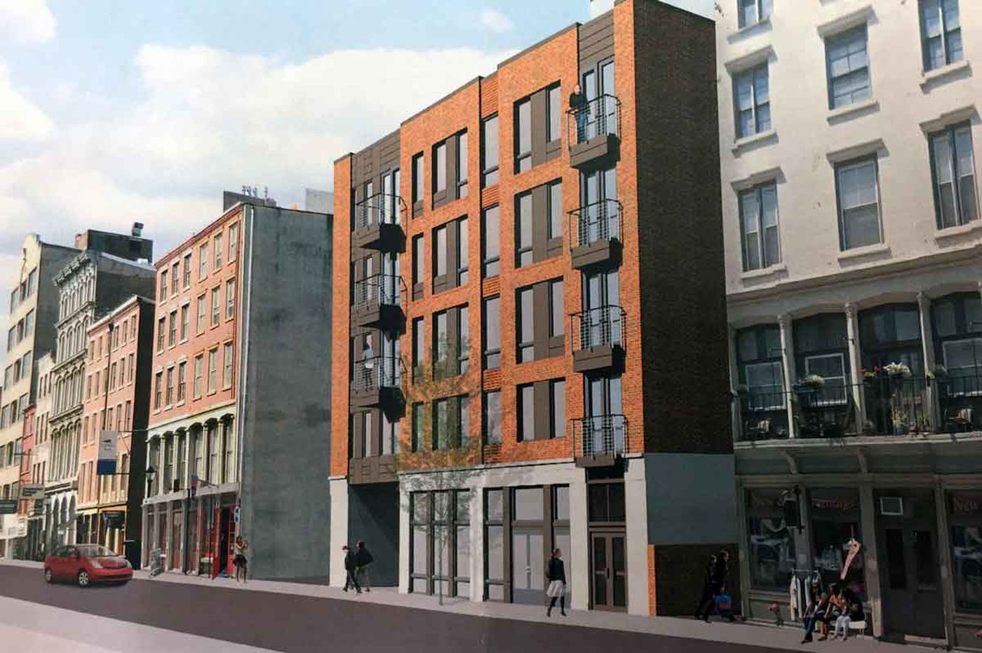 Residences to rise on parking lot in historic Old City