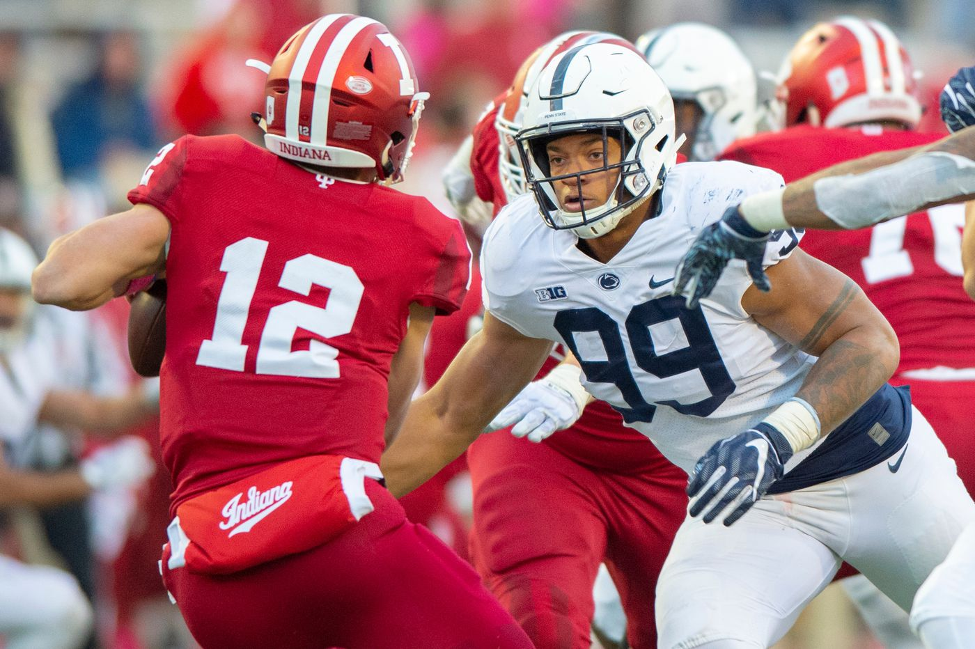 Penn State announces suspensions of defensive end Yetur Gross-Matos, running back Journey Brown