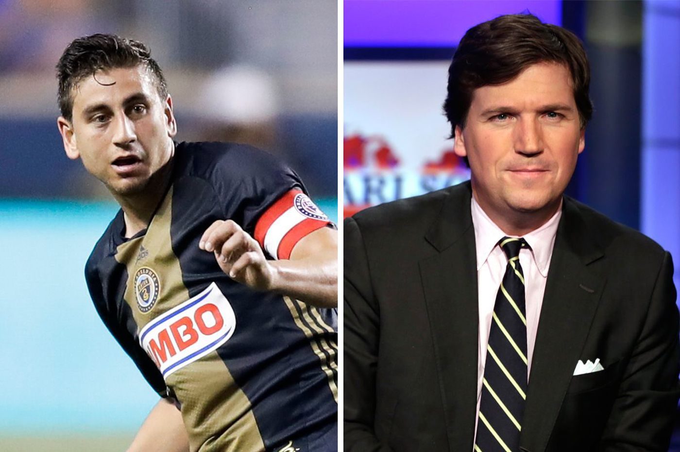 Union midfielder Alejandro Bedoya goes after Fox News host Tucker Carlson