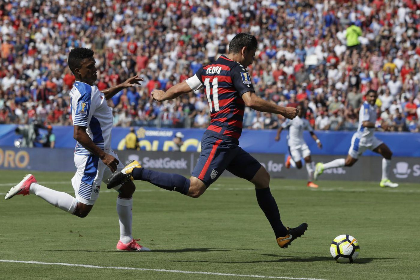 Alejandro Bedoya 'a little bit' surprised to be with U.S. national team for Portugal game