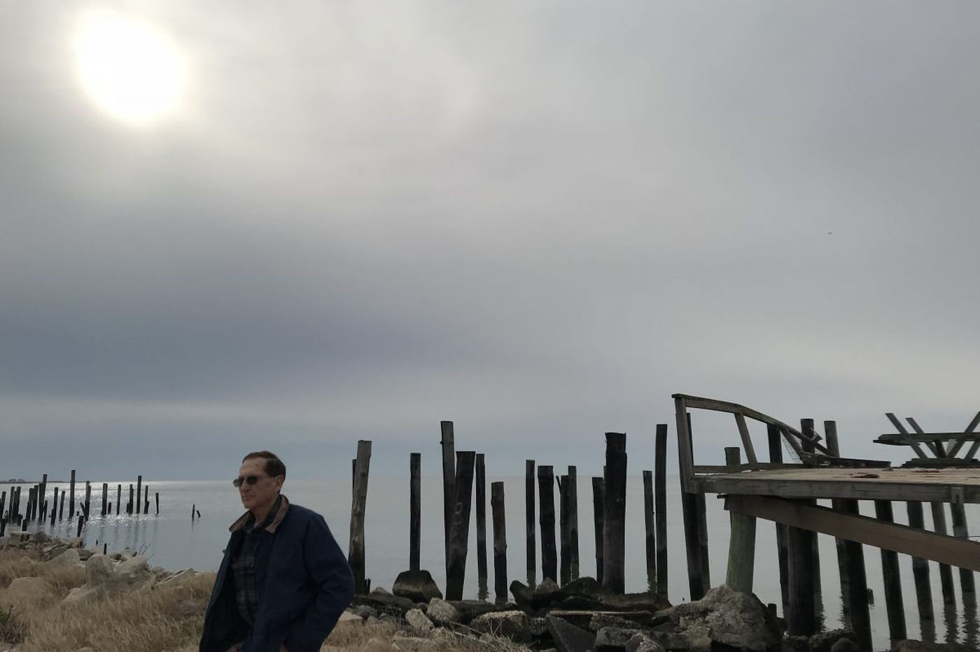 Another N.J. hamlet on the Delaware Bayshore is razed, a victim of sea rise