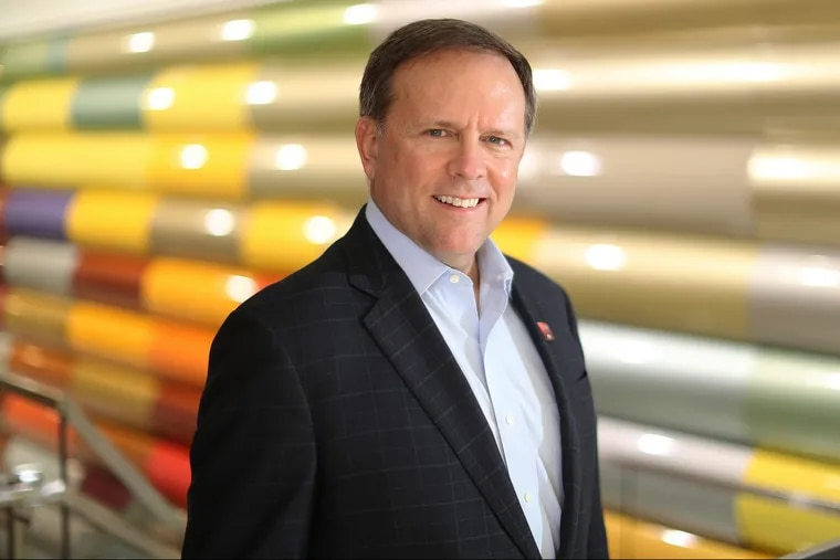 Charlie Shaver, boss at Philadelphia-based  Axalta coatings, spends much of his time in merger talks