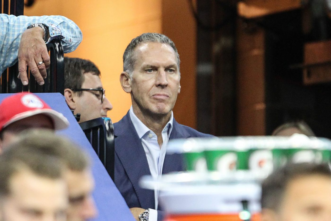 Why famous people like Bryan Colangelo use burner accounts