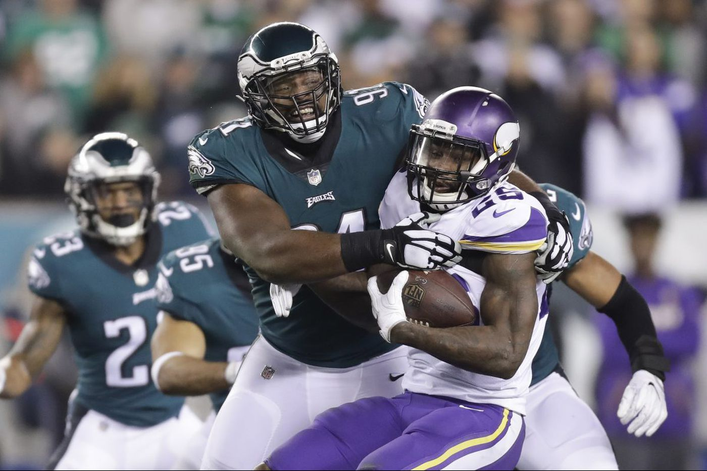 Film analysis: Why the Eagles' defensive line is their best chance at winning the Super Bowl | Jeff McLane