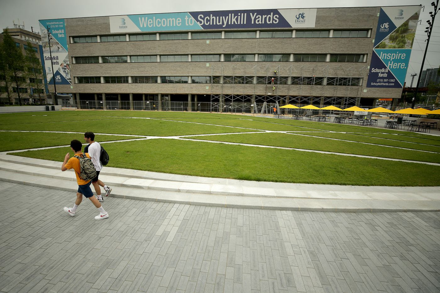 Schuylkill Yards first project: Turning a parking lot into a park