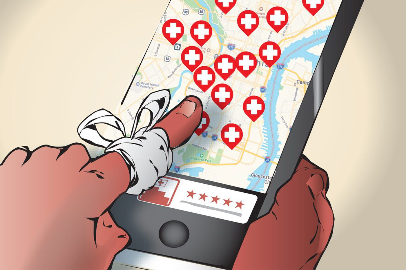 Can Yelp help you find a hospital — a good one?