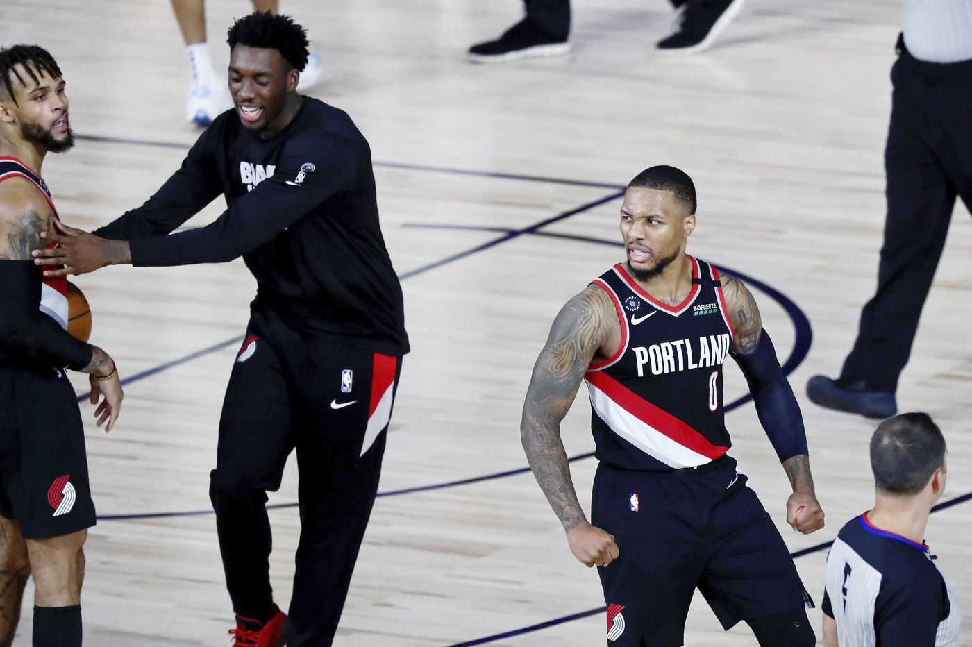 Damian Lillard joins Wilt Chamberlain in the history books, Deion Sanders leaves NFL Network for Barstool, and other sports news