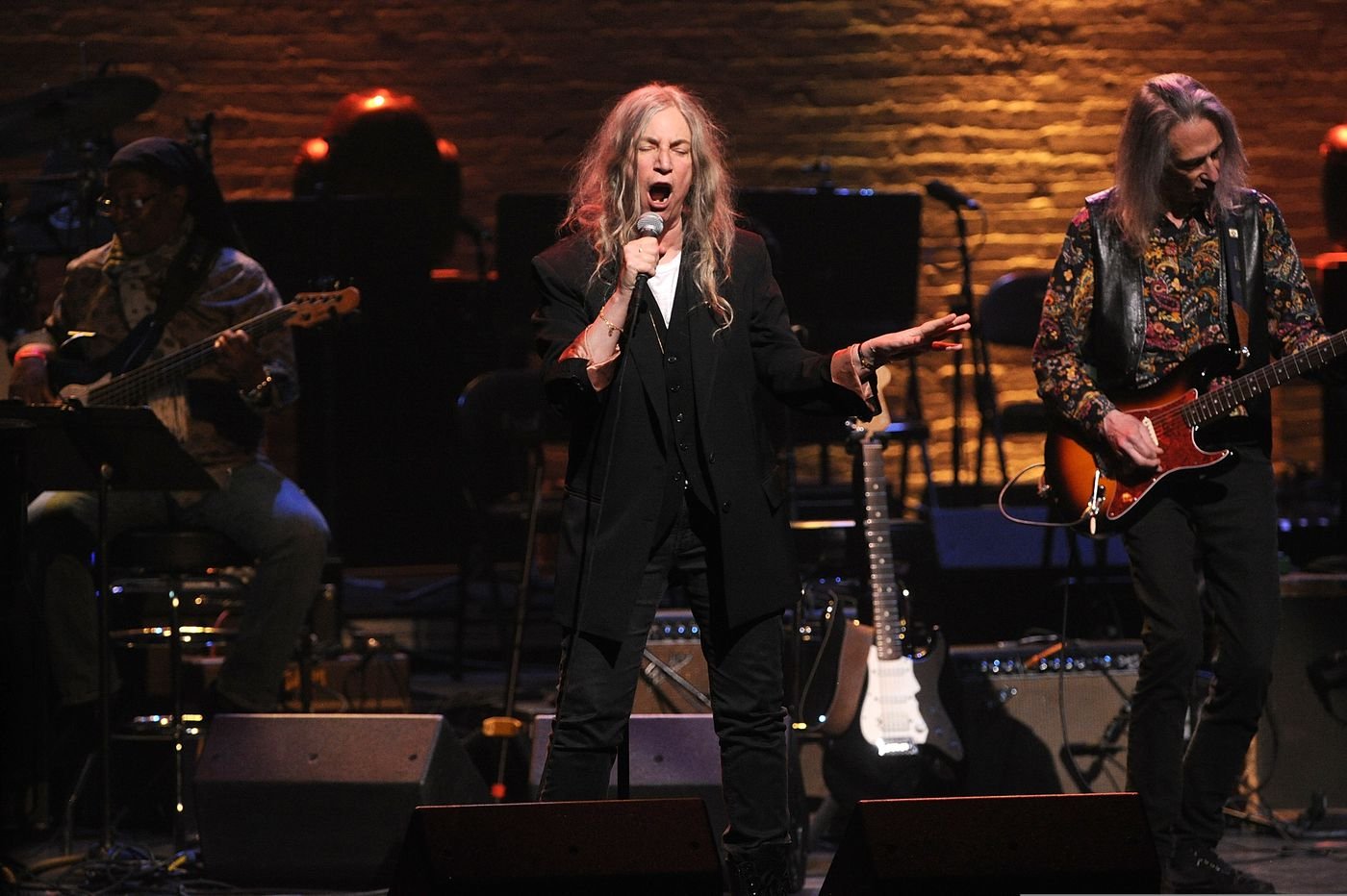 Watch: Patti Smith sings Bob Dylan at The Met