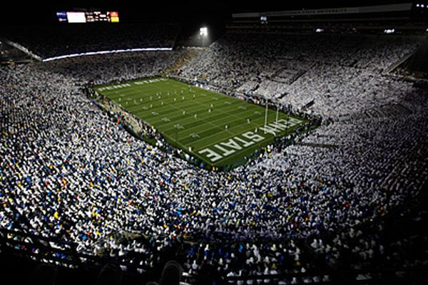 Penn State's 'White Out' game vs. Michigan will be under the lights on Oct. 19