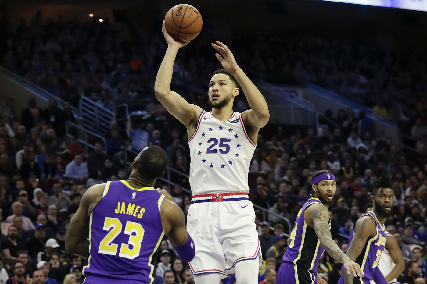 Contact between Ben Simmons and Lakers doesn't violate tampering policy, NBA rules