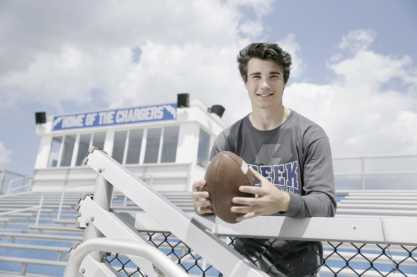Quarterback Donovan Leary is creating his own football legacy at Timber Creek