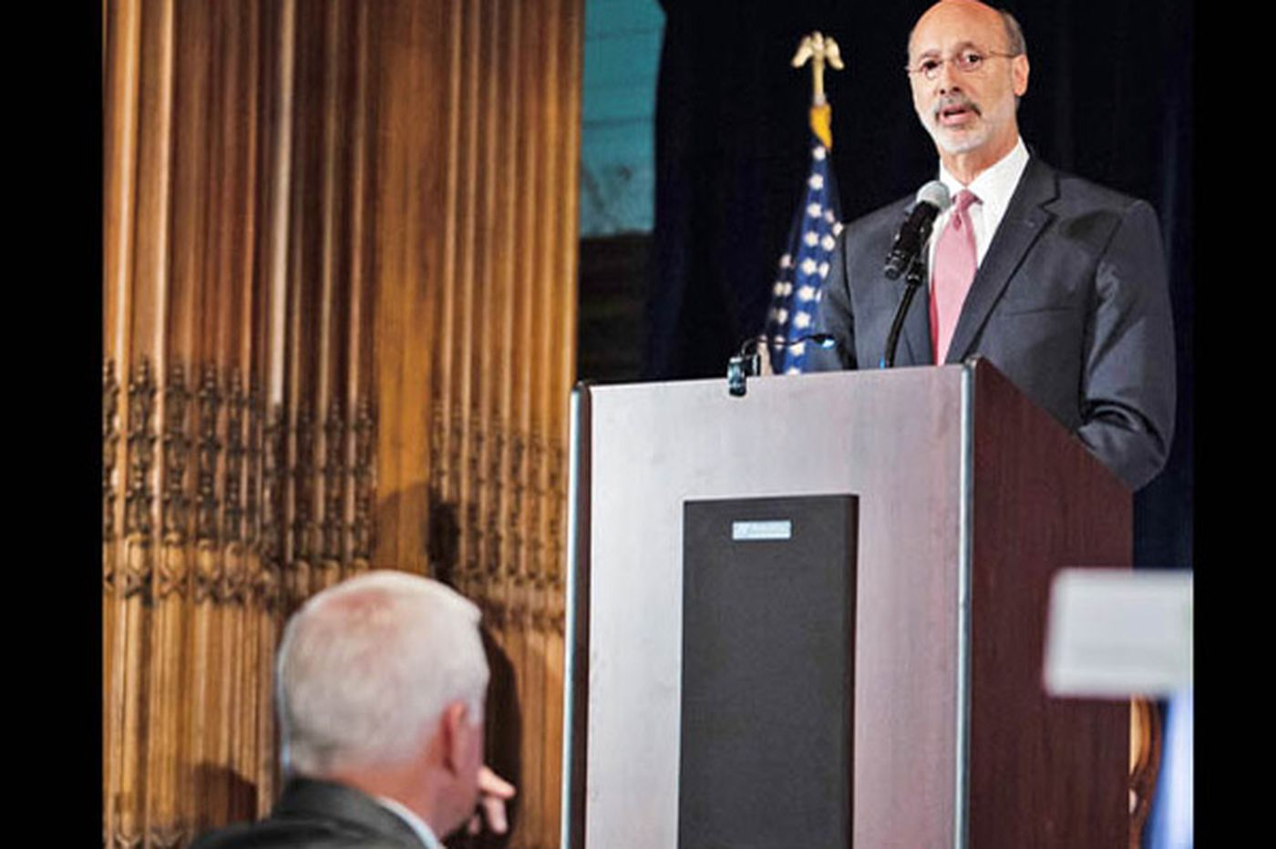 What a gas: Wolf, Corbett talk environment