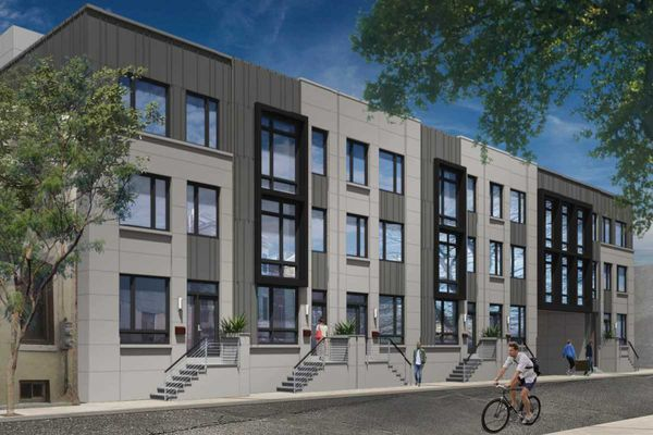 Residential units and townhouses moving forward at Royal Theater site