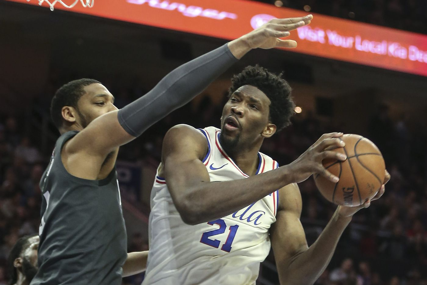 Sixers podcast: Joel Embiid needs to start each game with 'Bully Ball'